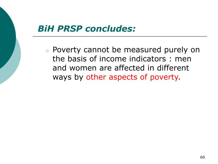 BiH PRSP concludes:
