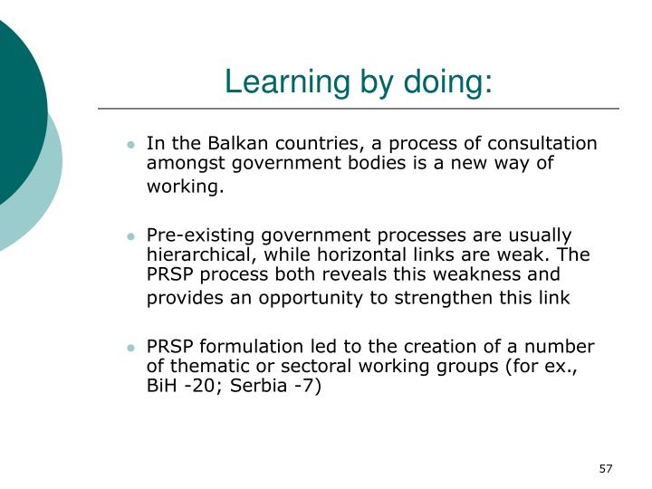 Learning by doing: