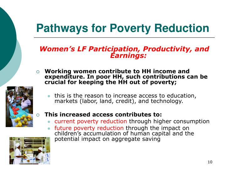 Pathways for Poverty Reduction