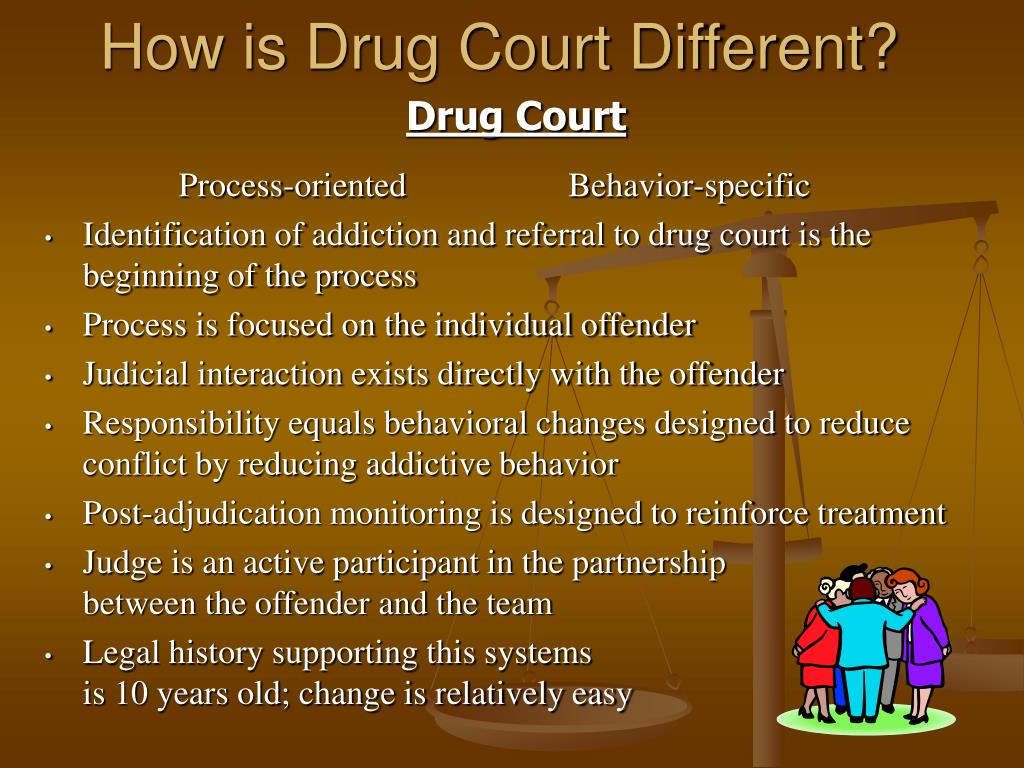 How is Drug Court Different?