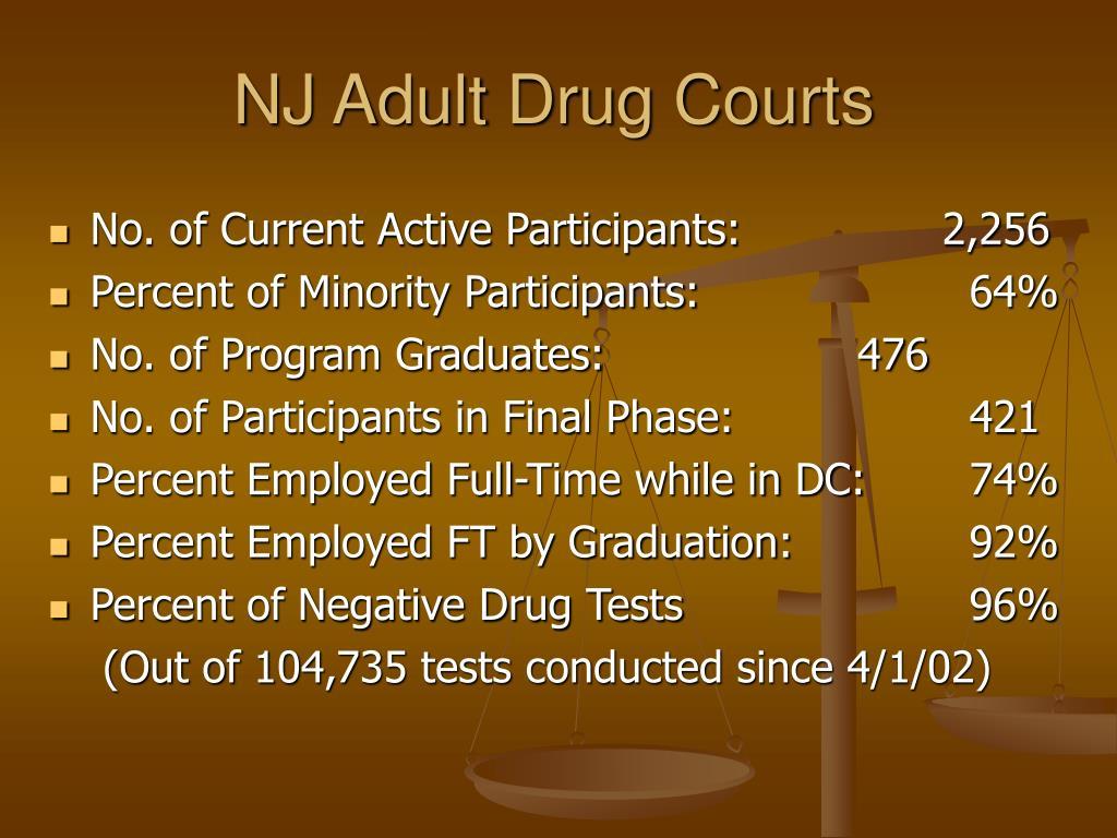NJ Adult Drug Courts