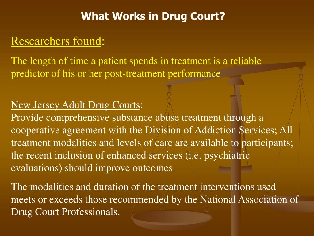 What Works in Drug Court?