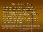 the judge effect 1