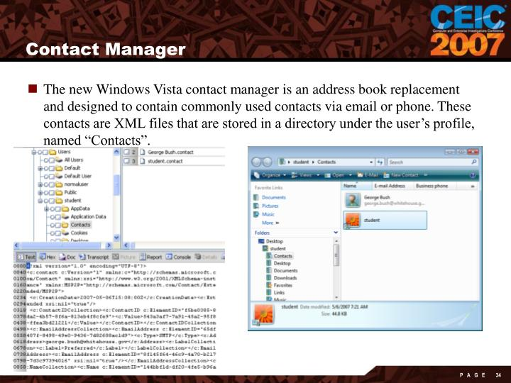 Contact Manager