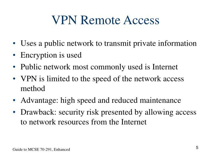 VPN Remote Access