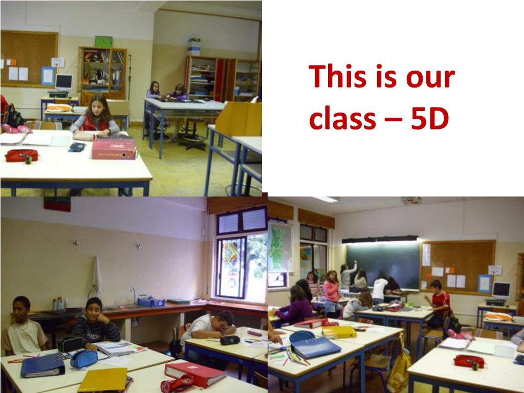 This is our class – 5D