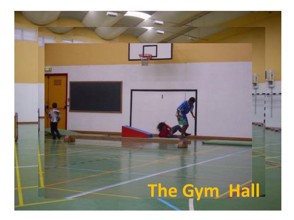 The Gym  Hall