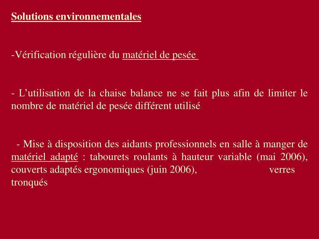 Solutions environnementales