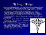 st hugh nibley