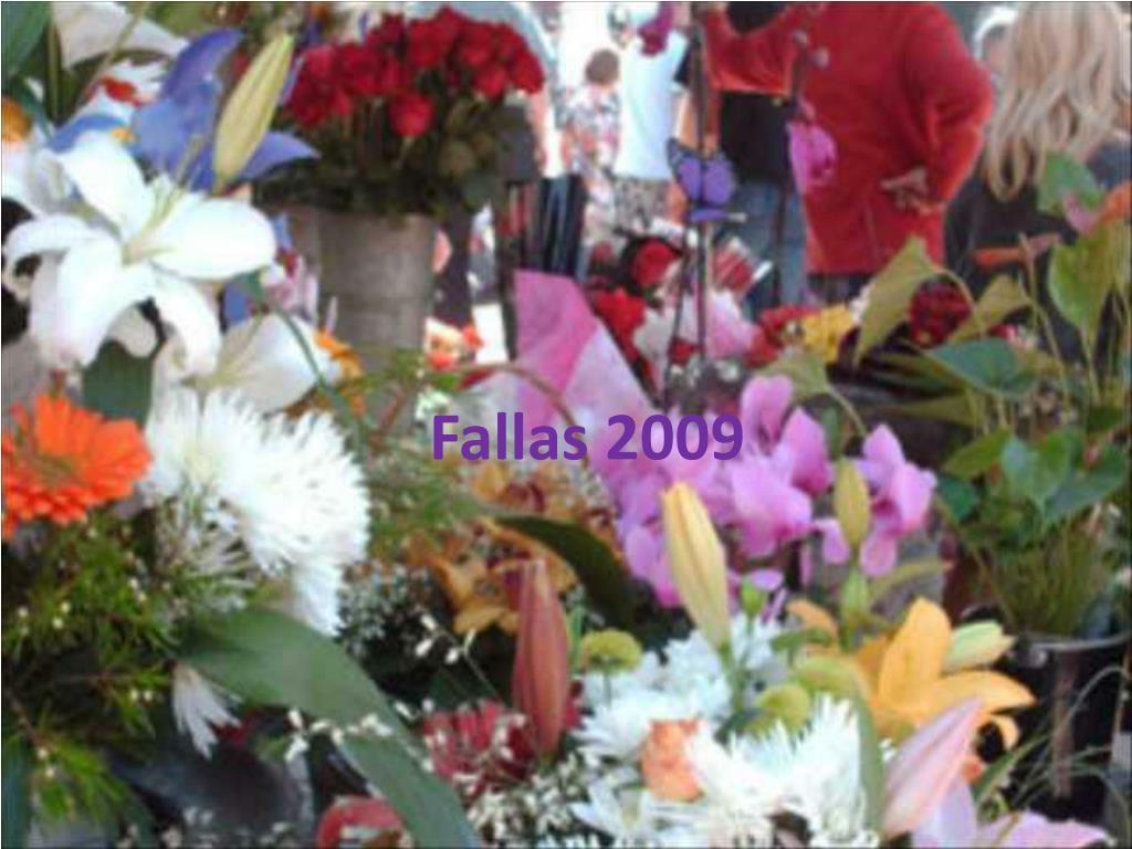 Fallas 2009
