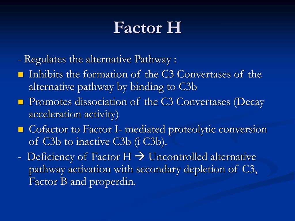 Factor H