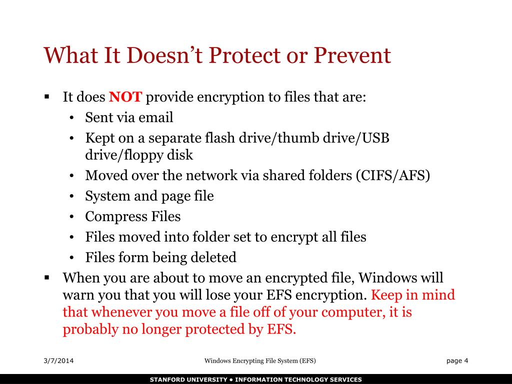 What It Doesn't Protect or Prevent