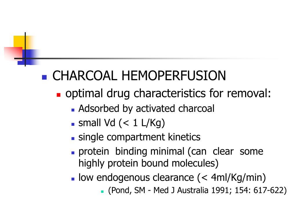CHARCOAL HEMOPERFUSION