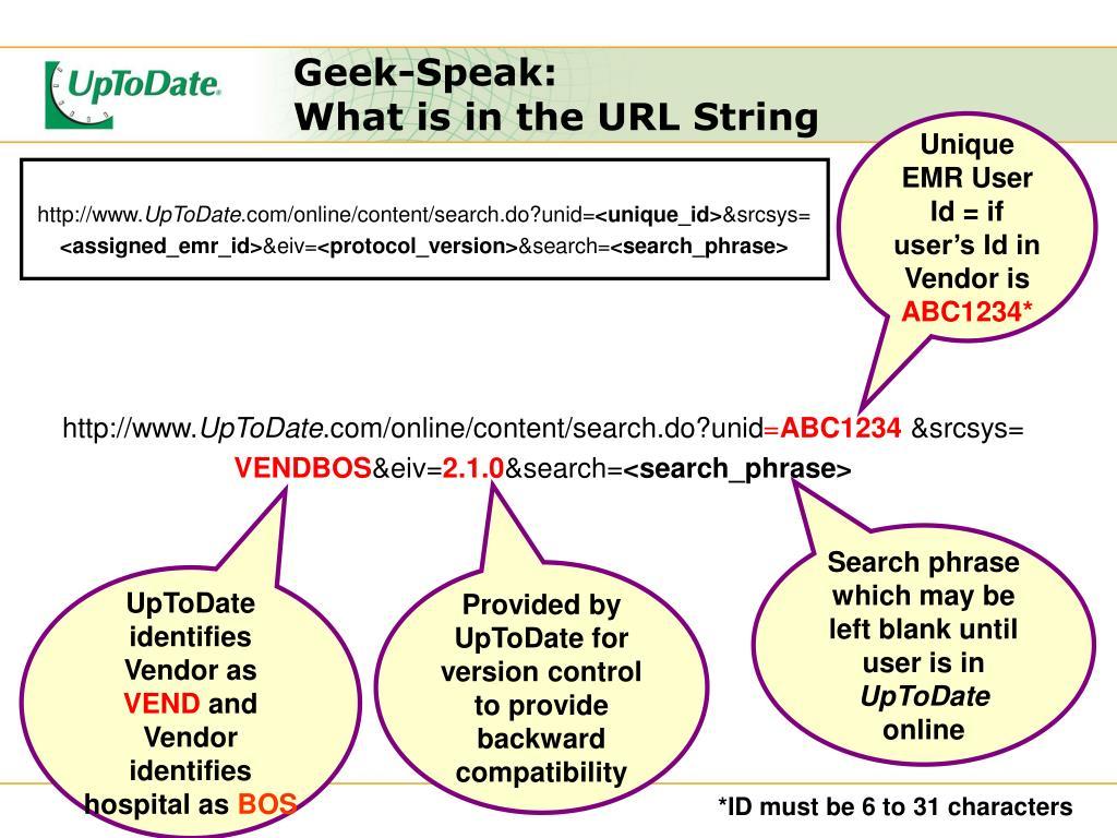 Geek-Speak: