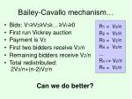 bailey cavallo mechanism