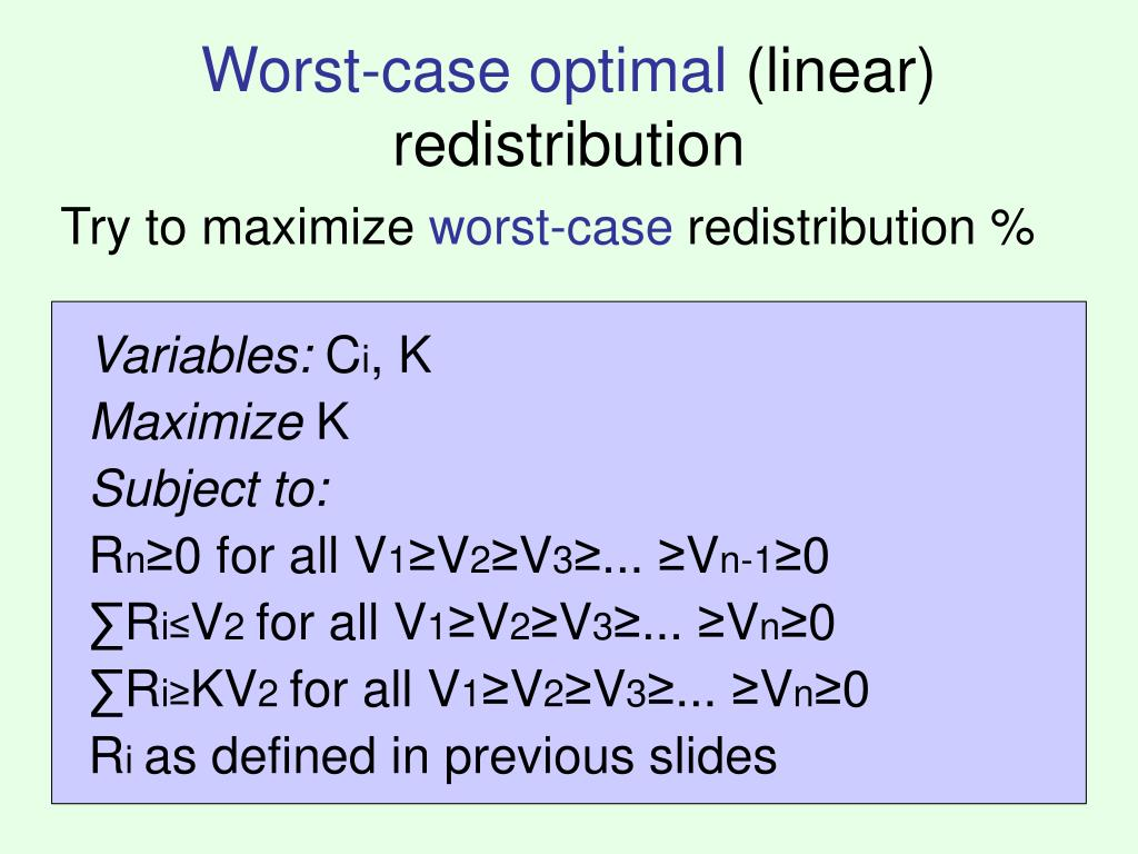 Worst-case optimal