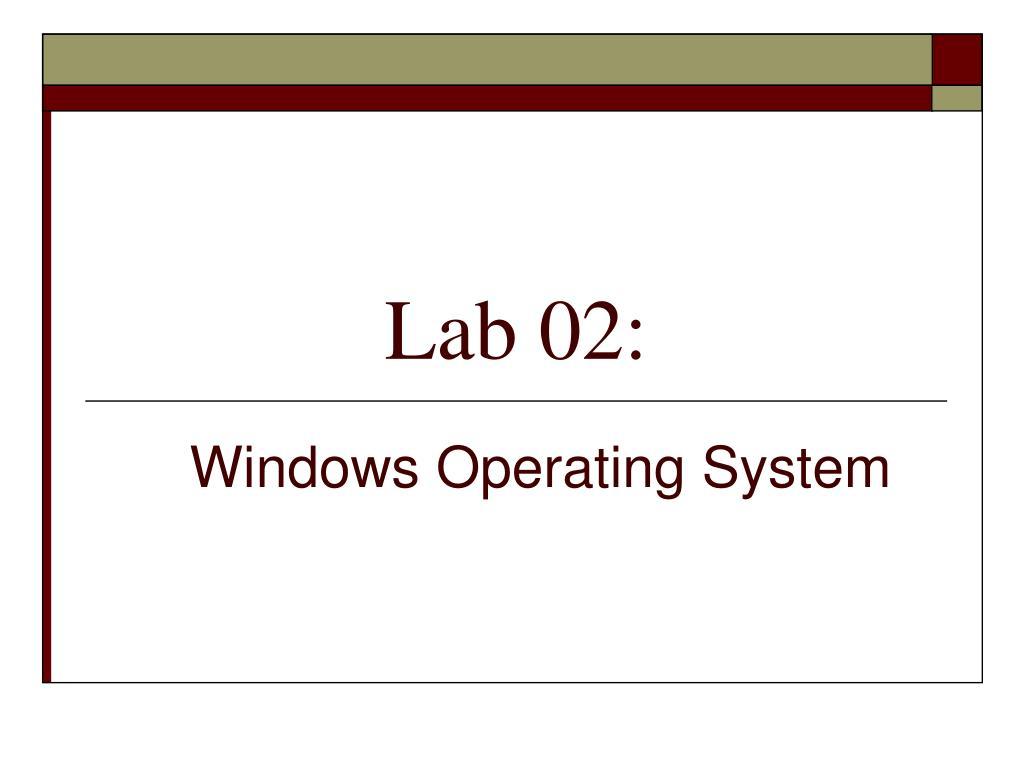 Lab 02: