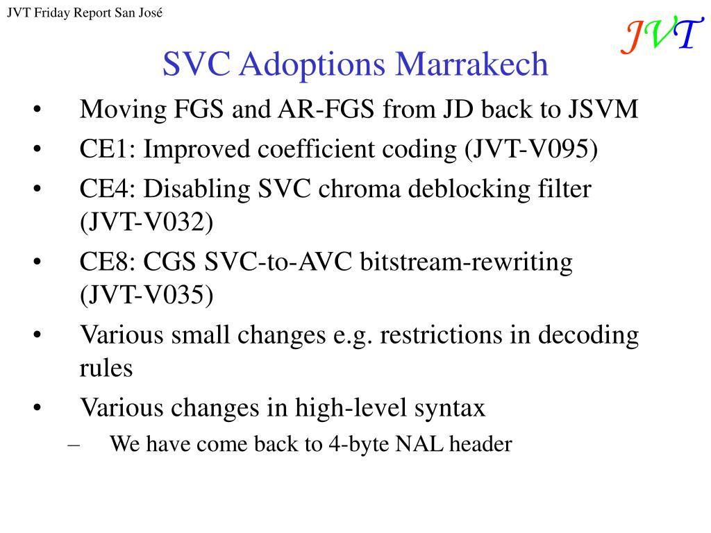 SVC Adoptions Marrakech