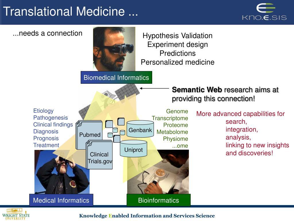 Translational Medicine ...