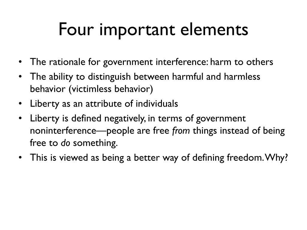 Four important elements