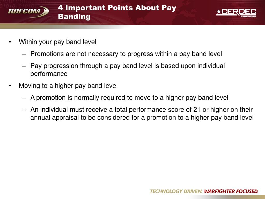 4 Important Points About Pay Banding