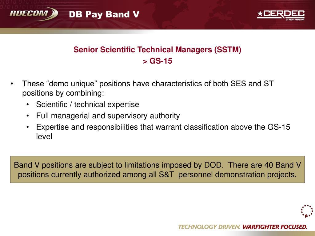 DB Pay Band V