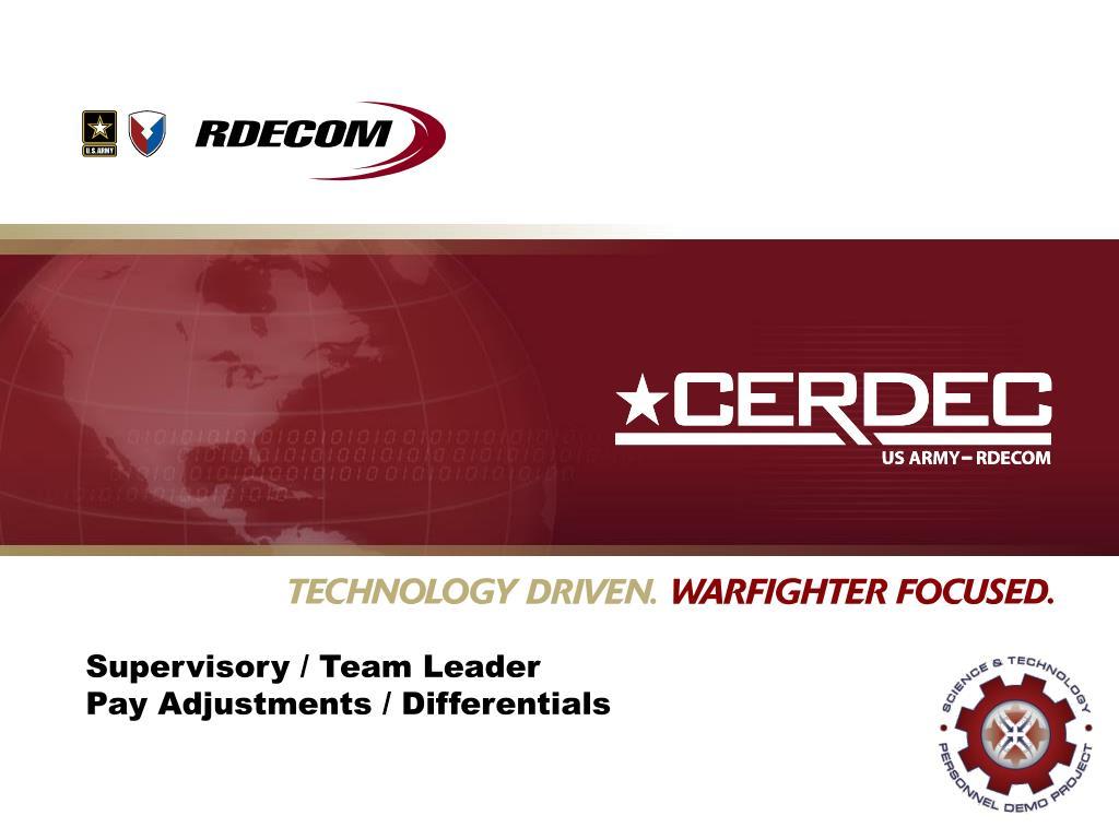 Supervisory / Team Leader