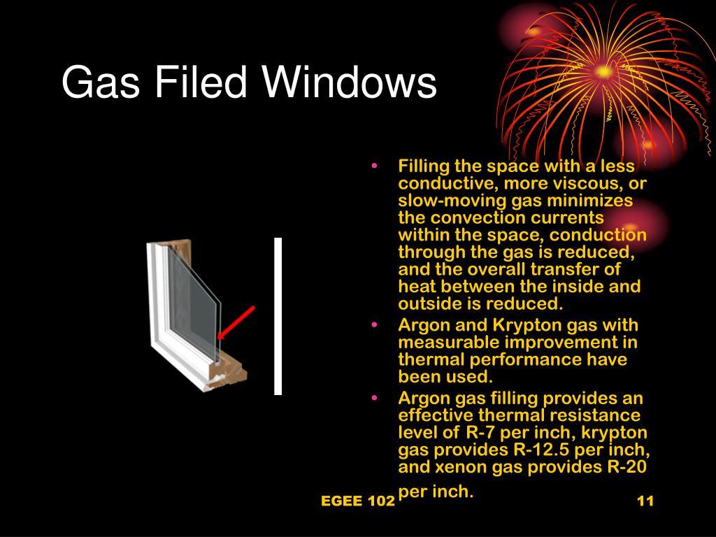 Gas Filed Windows