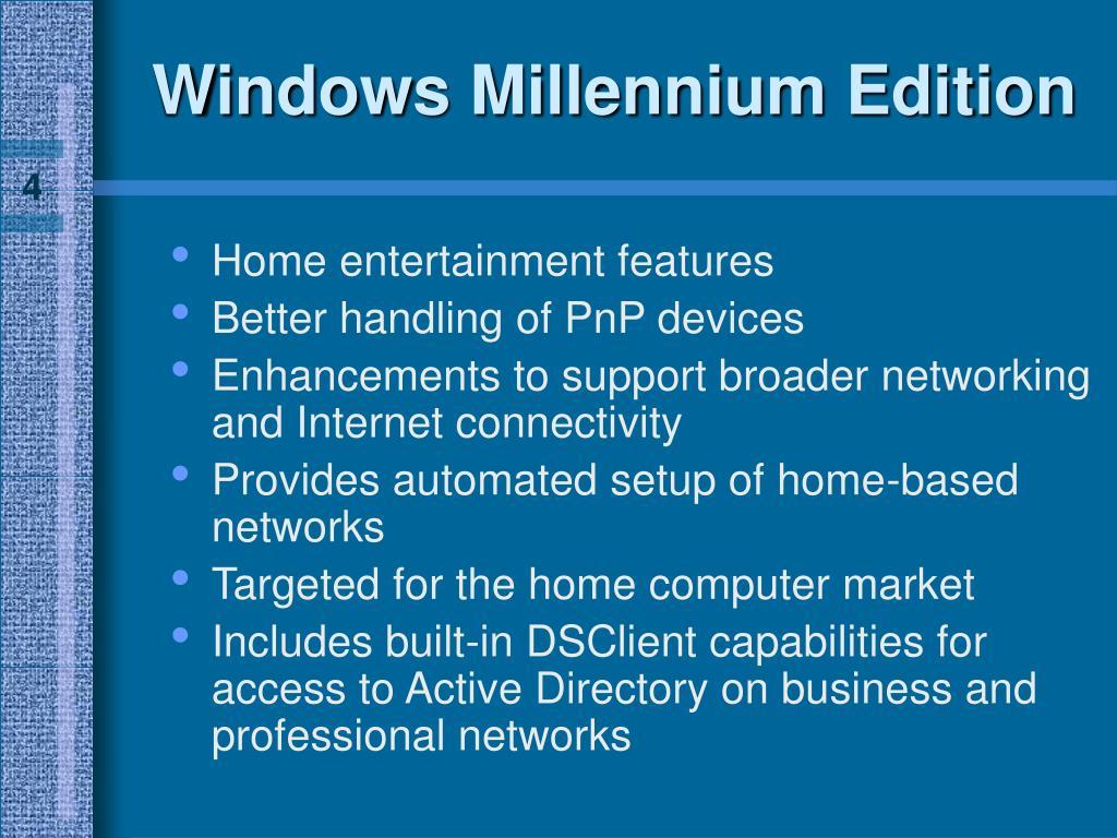 Windows Millennium Edition