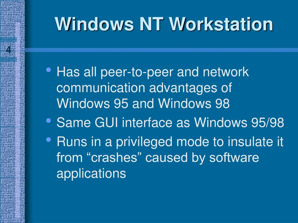 Windows NT Workstation
