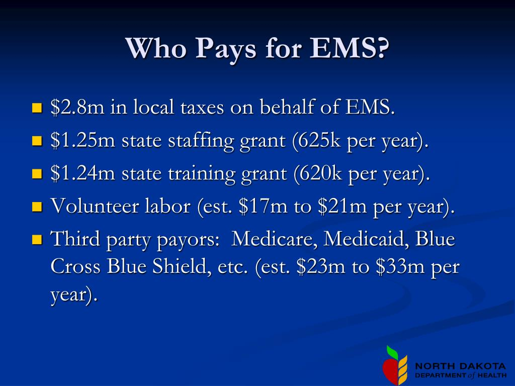 Who Pays for EMS?