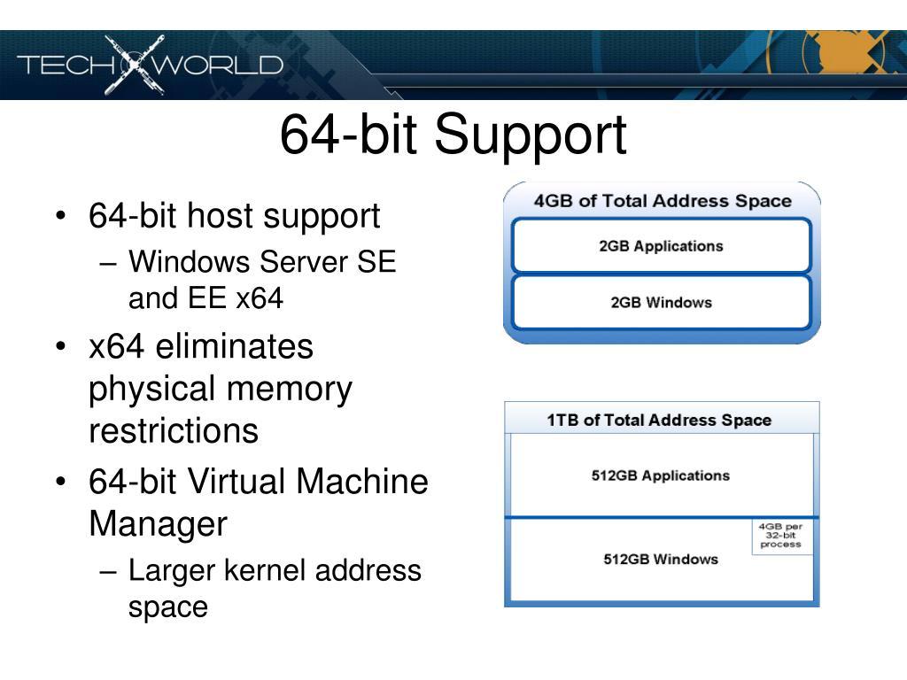 64-bit Support