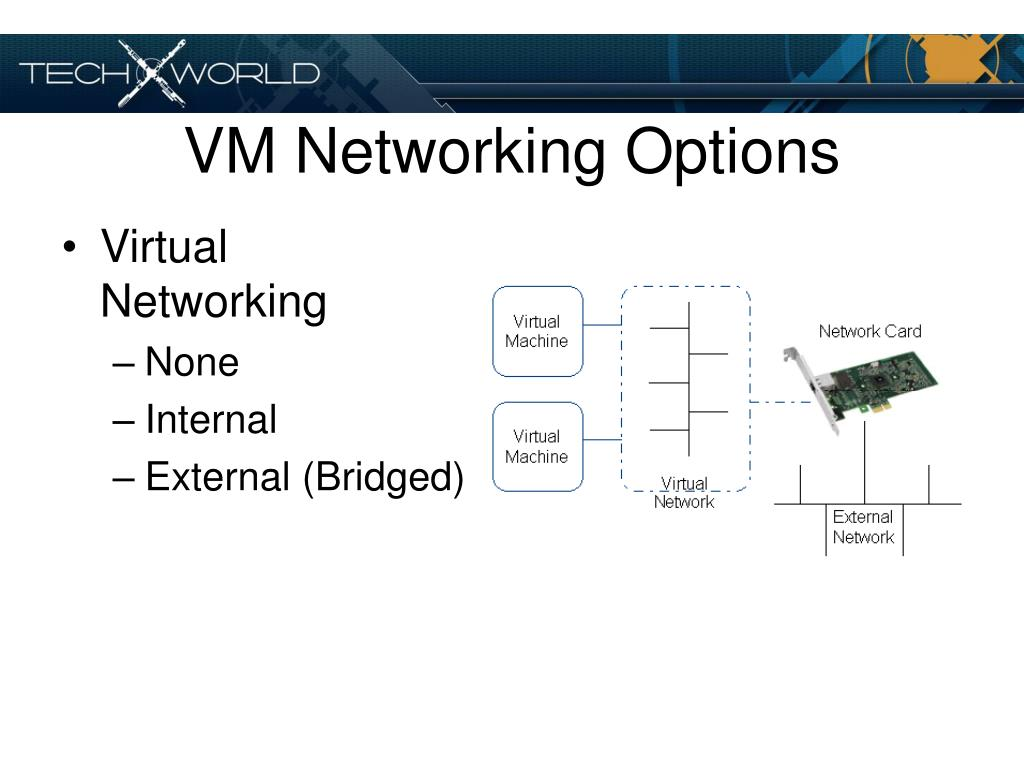 VM Networking Options