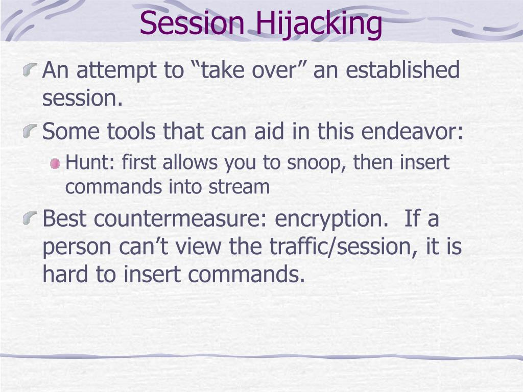 Session Hijacking