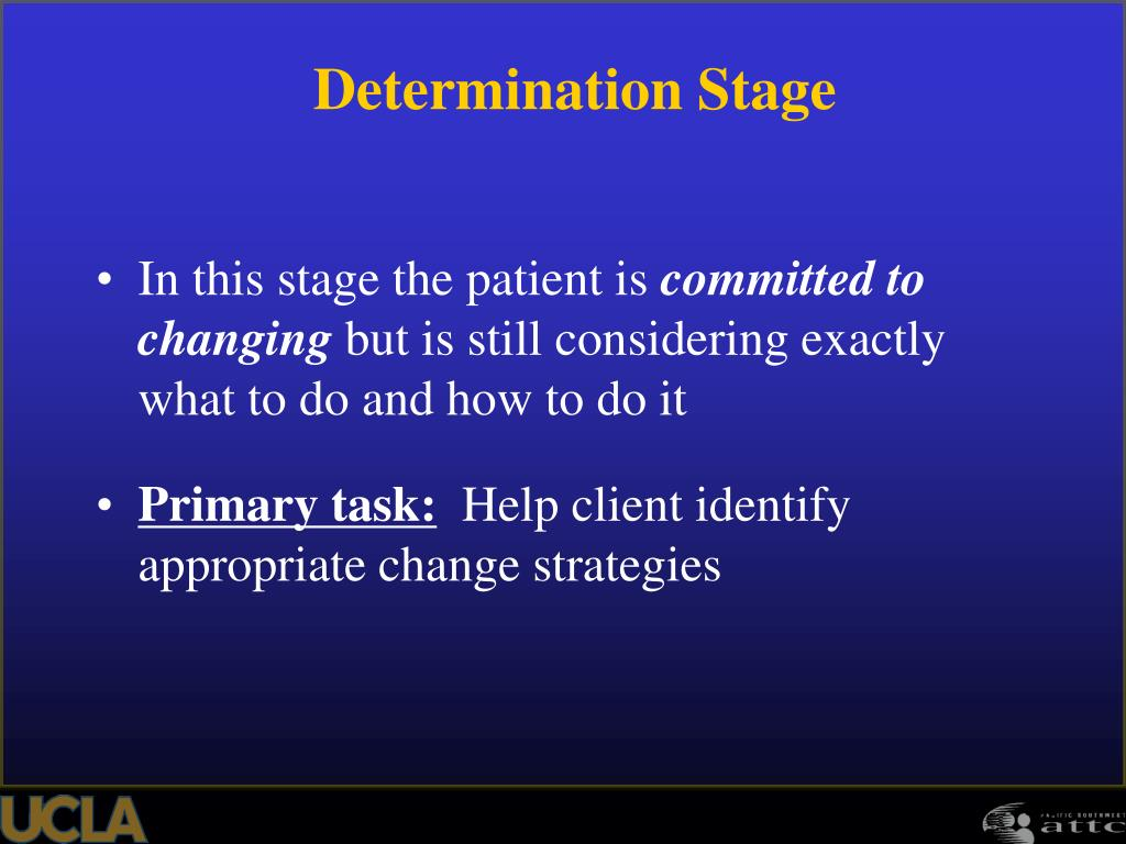 In this stage the patient is