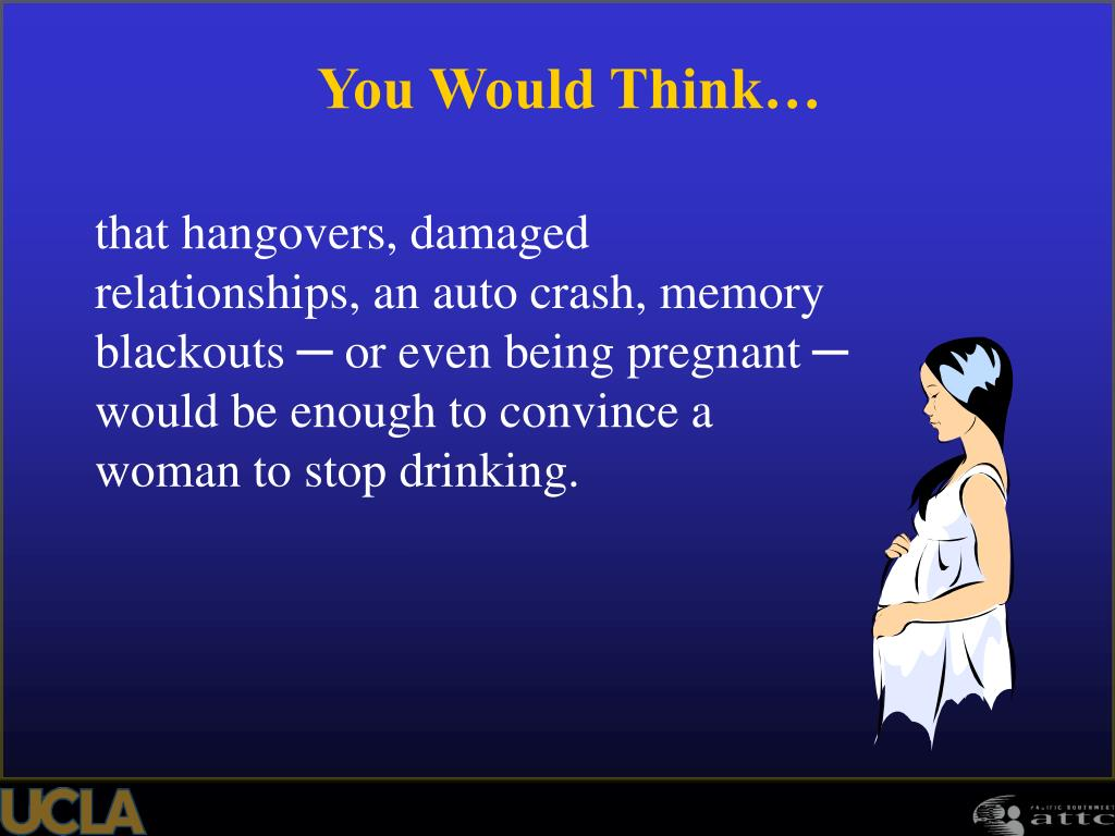 that hangovers, damaged relationships, an auto crash, memory blackouts