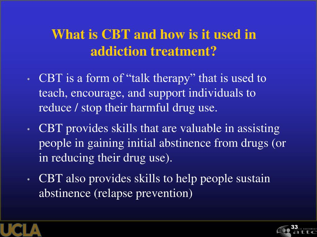 What is CBT and how is it used in