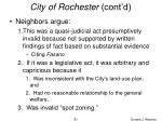 city of rochester cont d81