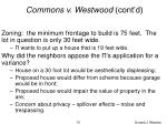 commons v westwood cont d70