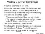nectow v city of cambridge