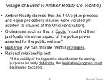 village of euclid v ambler realty co cont d37