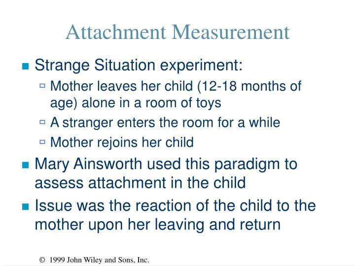 Attachment Measurement
