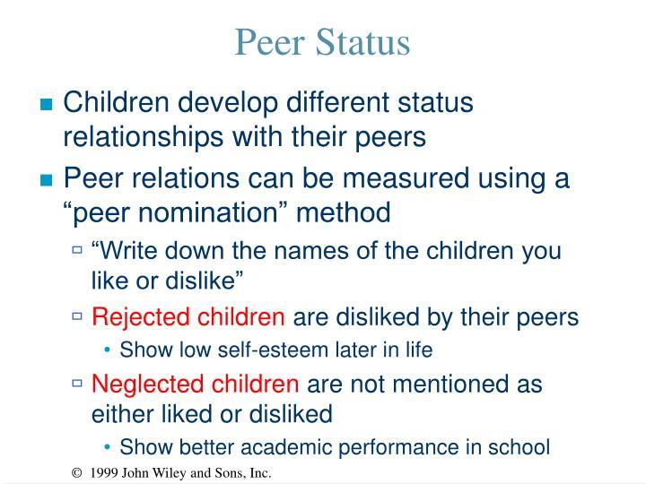 Peer Status
