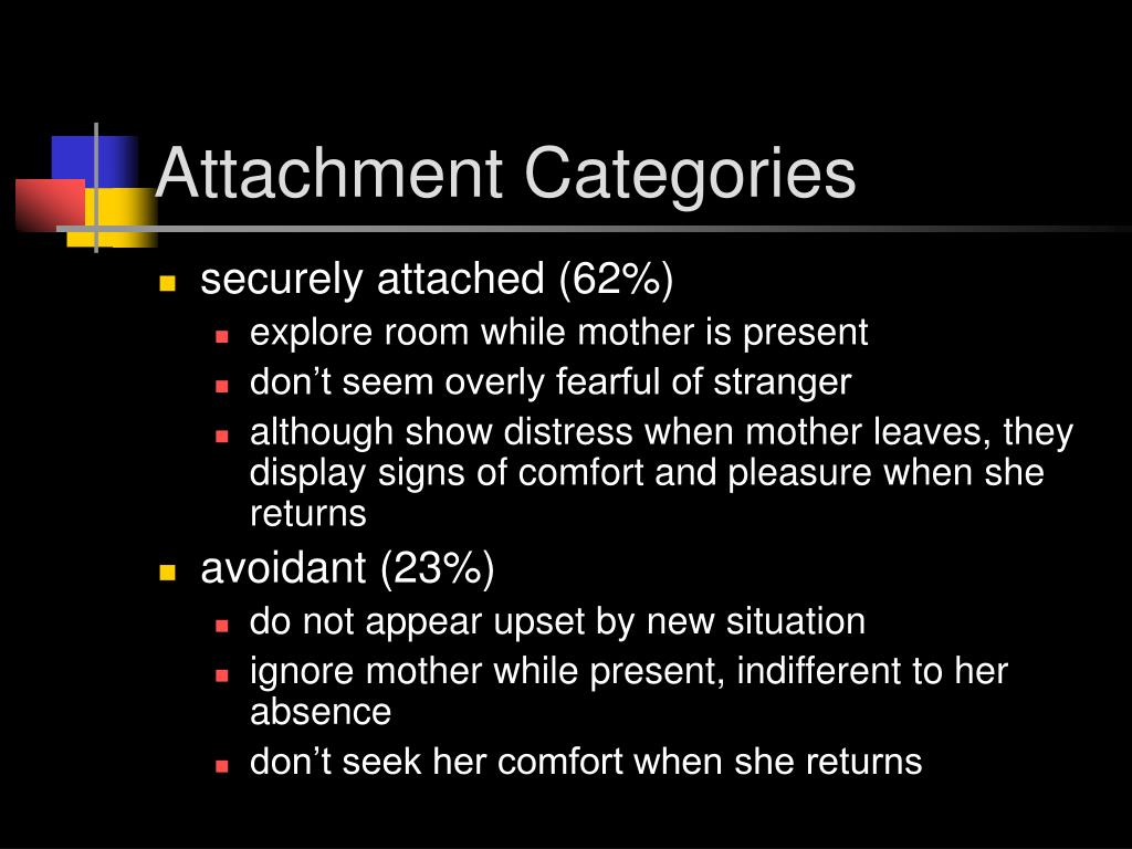Attachment Categories