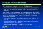 previously proposed methods