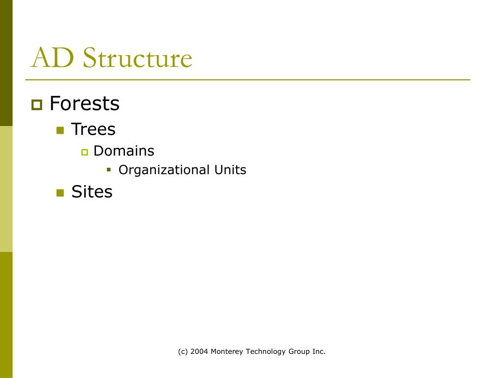 AD Structure