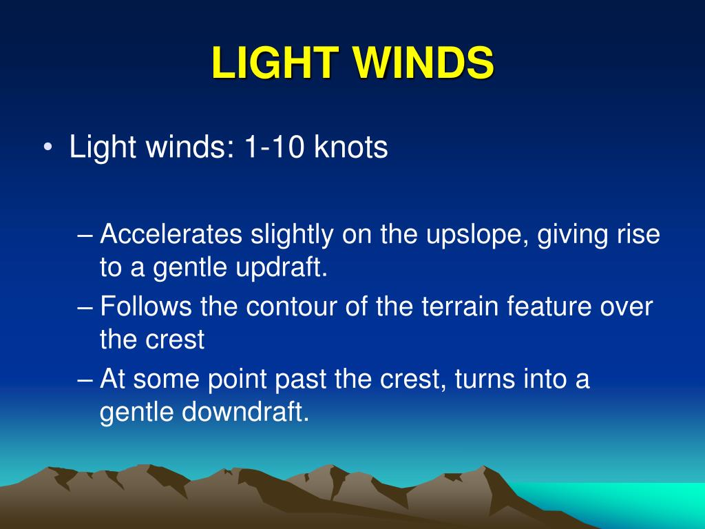LIGHT WINDS