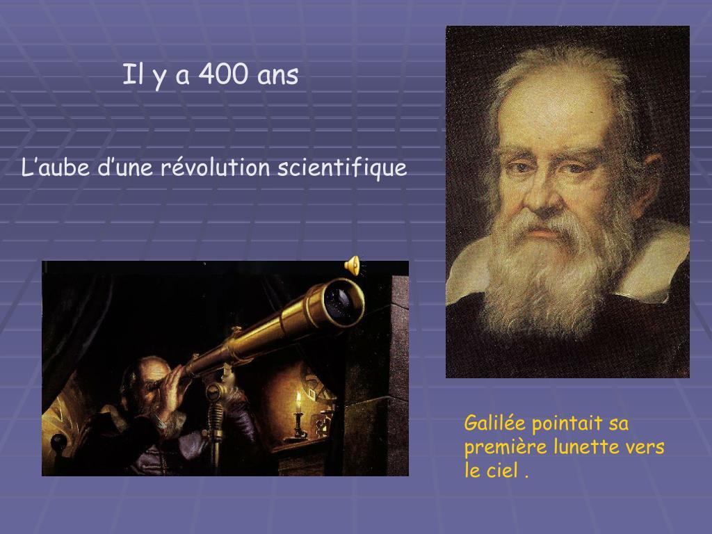 Il y a 400 ans