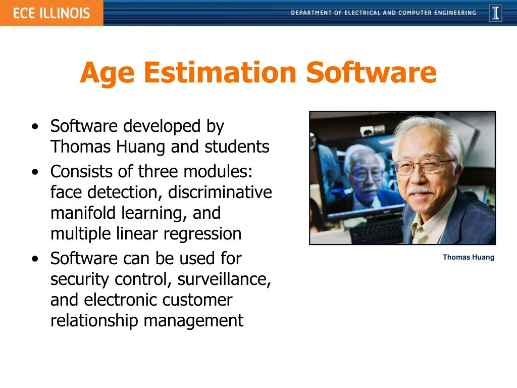 Software developed by Thomas Huang and students