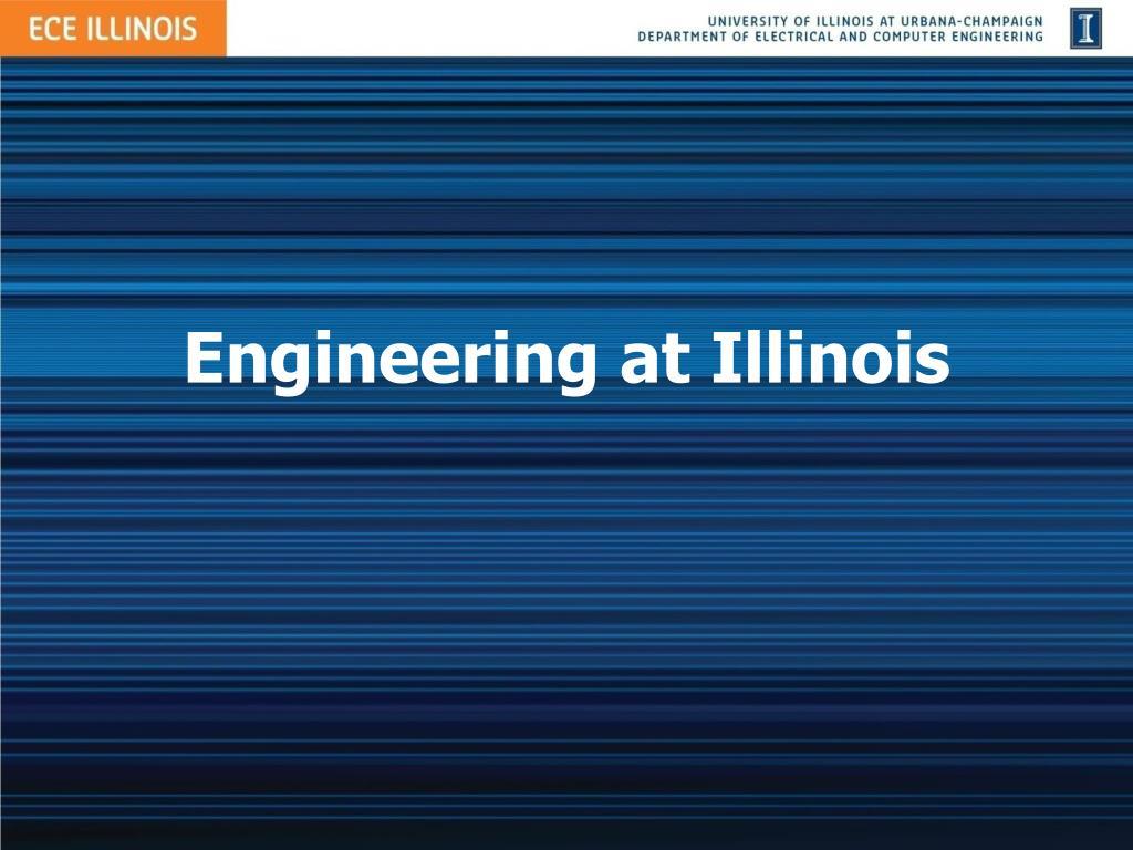 Engineering at Illinois
